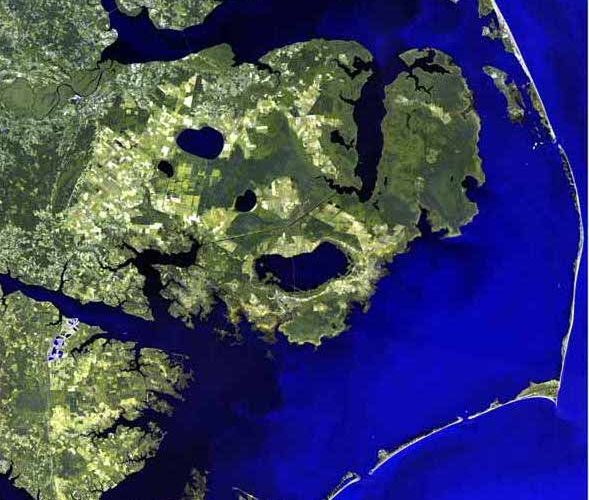 outer banks, obx, aerial