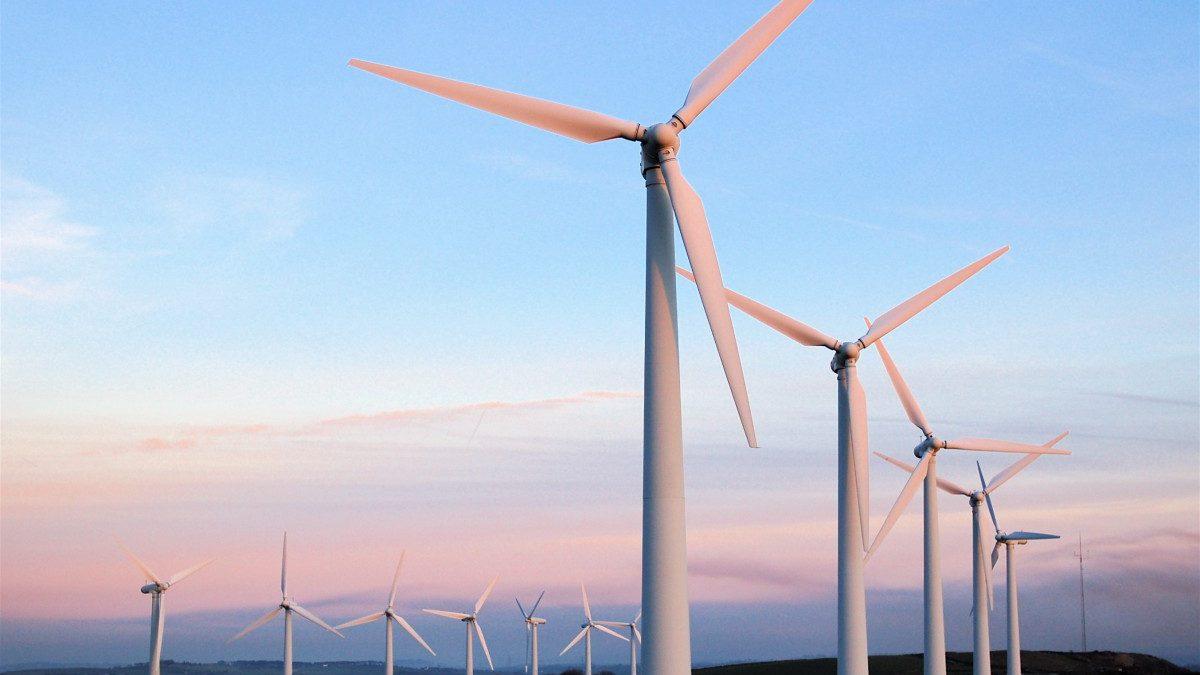 wind farm, energy, turbine