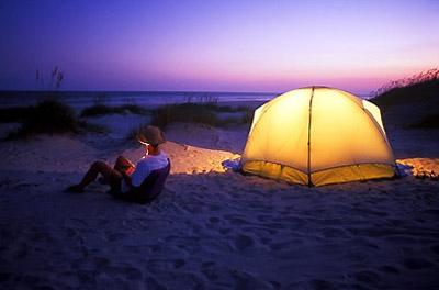 bear island camping