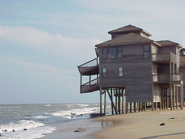 beach erosion outer banks