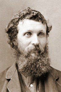 John Muir, the Scottish-American naturalist, author, founder of the Sierra Club and early advocate of preservation of wilderness in the United States. Photo: Carleton Watkins, circa 1875