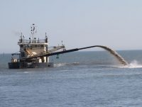 Col. Kevin Landers commands the Corps' Wilmington District at a time when federal money for dredging the state's shallow inlets is becoming increasingly harder to come by. Photo: Dredging Today