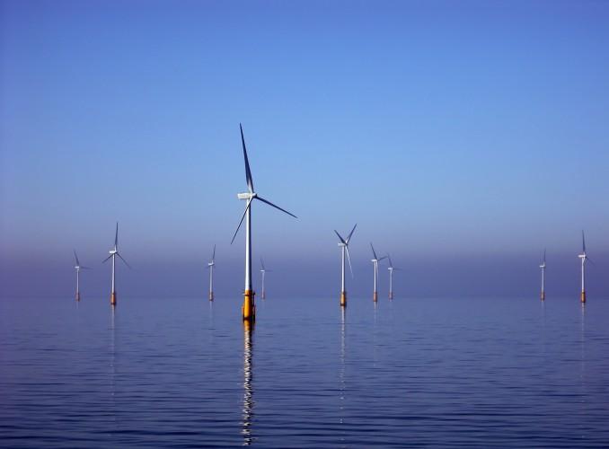 An offshore wind farm. Photo: Bureau of Ocean Energy Management