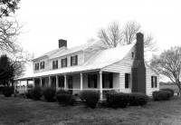 Francis Nixon built his house in 1815 in the Old Neck community of Perquimans County, where it stand today. Photo: N.C. State Historic Preservation Office