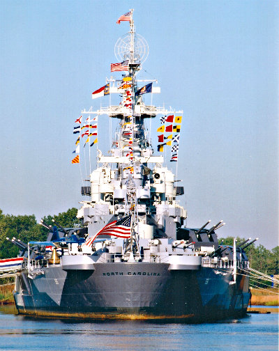 More than $17 million will be needed to restore the hull of the USS North Carolina and create a nature walk and trial on Eagles Island. Photo: USS North Carolina
