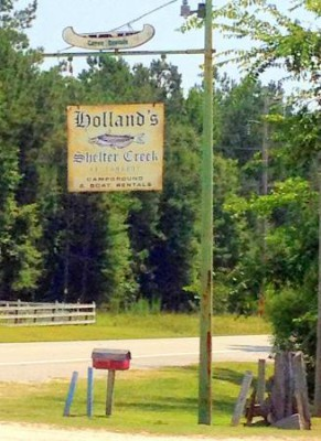 Holland's Shelter Creek Fish Camp restaurant in Burgaw  serves thousands of pounds of fish, shrimp and oysters every week. Photo: Allison Ballard