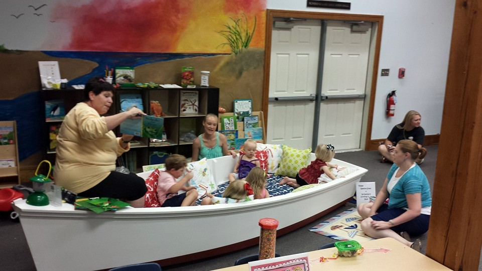 Featured programs include demonstrations and storytelling with learning experiences in a children's area that reinforce the theme for the week.