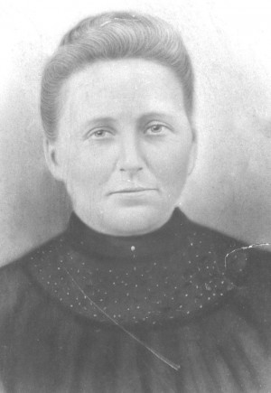 This photo of Charlotte Ann Mason Moore was taken in 1885. Photo: National Park Service
