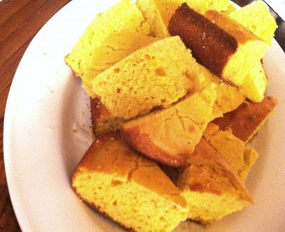Northerners often prefer cake-like, baked cornbread with a touch of sweetness. Photo: Liz Biro