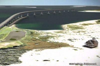 Rendering of New Bonner Bridge. Image: N.C. Department of Transportation