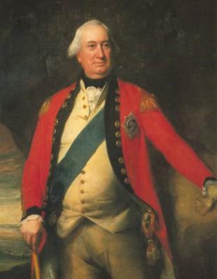 Gen. Charles Cornwallis, as seen by portrait artist John Singleton Copley circa 1795.  Photo: Public domain