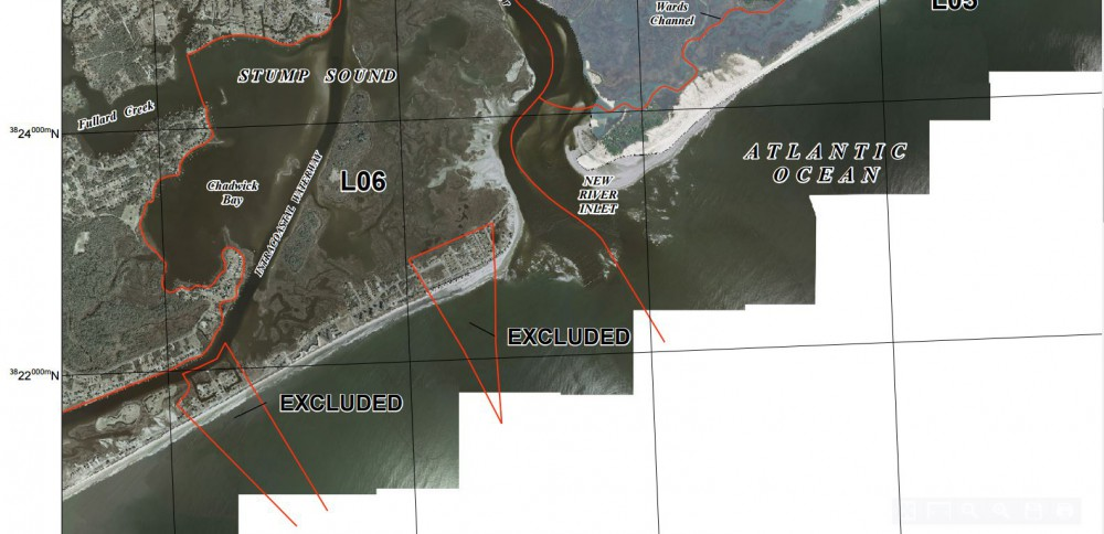 About 70 percent of North Topsail Beach's land mass is included in a zone regulated by the Coastal Barrier Resources Act. Photo: U.S. Fish and Wildlife Service