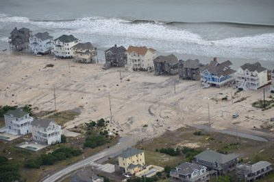 Outer Banks after Hurricane Sandy. File photo