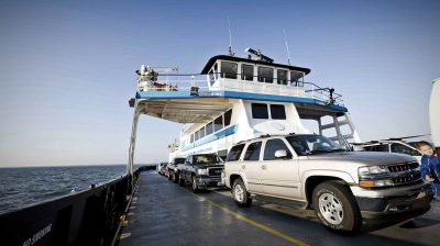 The state offers six ferries that cross inlets, rivers and sounds. Photo: www.visitnc.com
