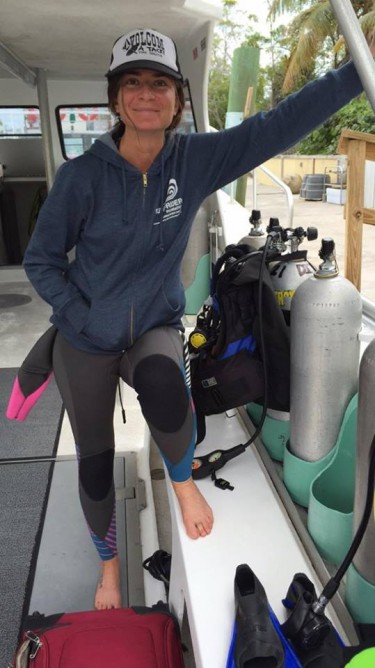 Lisa Rider will be collecting and analyzing plastic marine pollution. Photo: Courtesy of Lisa Rider