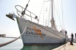 The 72-foot Sea Dragon is well equipped for this type of exploration. Photo: Pangaea Exploration