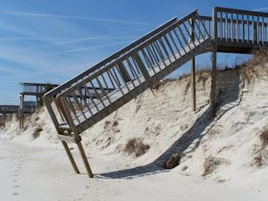 Beach erosion and what can be done about it is the subject of another study. Photo: Frank Tursi