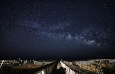"""Second Place: """"Starry, Starry Night"""" by Pete Kreps."""