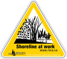 Shoreline-sign