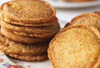 Miss Todd, the neighborhood matriarch, contributed cornmeal griddle cakes that she cooked in her cast-iron skillet. Photo: Ten Speed Press
