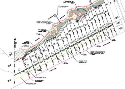 Sunset Beach West would be accessed by a private wooden bridge to be built by the developer at the end of Main Street. Plat: Town of Sunset Beach