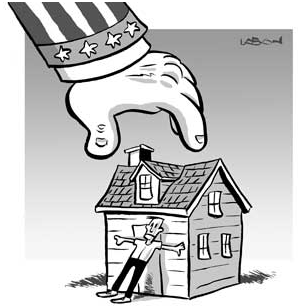 Eminent domain is rarely used in North Carolina.