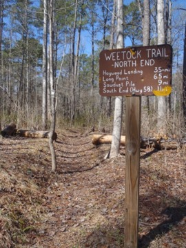 Gene Huntsman's love of hunting inspired the Weetock Trail. Photo: Carteret Wildlife Club