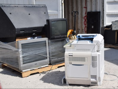 It is illegal in North Carolina to dispose of TVs, computers and printers in landfills. Photo: Mark Hibbs