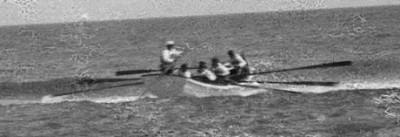 Capt. Hobbs relentlessly trained his boat crew relentlessly. Library of Congress image enhanced by Joyner Library, East Carolina University.