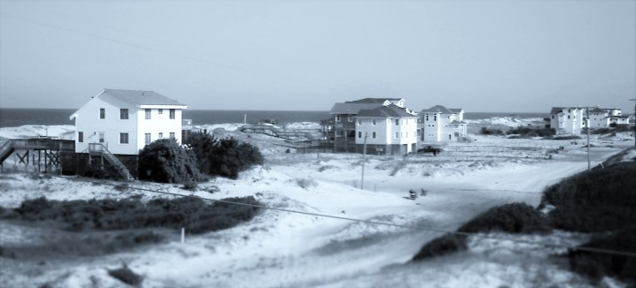 Life in Carova is quite unlike life anywhere else on the Outer Banks. This is beyond the pavement. Where the beach is the only way in and the only way out.