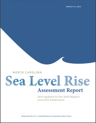 The final version of the state's five-year update to the original 2010 sea-level rise report was released in March.