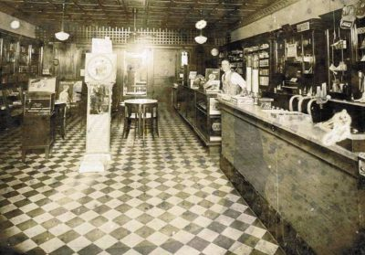 Carlton Campbell grew in Cary, when the now bustling Raleigh bedroom community consisted of one traffic light in front of the now famous Ashworth Drugs Store. Here's the inside of the store around 1957. Photo: Cary Citizen