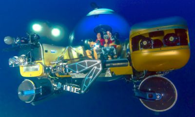 Triton submersibles will serve as the primary means of collecting data from the wrecks. Photo: Project Baseline/Brownies Global Logistics