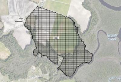 A proposal for a five-megawatt solar farm in Onslow County, near Swansboro.