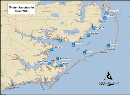 Map: N.C. Division of Marine Fisheries