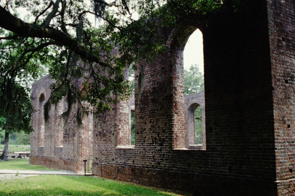 Brunswick Town was a port on the Cape Fear River that was razed by British troops in 1776 and never rebuilt. Photo: Allison Ballard