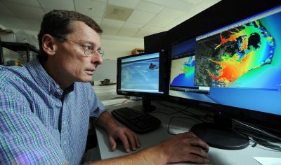 Rick Luettich of the UNC-Institute of Marine Sciences in Morehead City is one of seven scientists and policy experts recently appointed to advise a new environmental and natural resources policy center. Photo: UNC