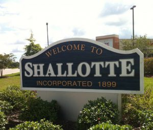 The Shallotte River, and the town that shares the name, are likely a tribute to Queen Charlotte. Photo: Allison Ballard