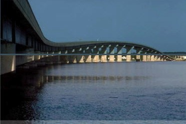 The proposed Mid-Currituck Bridge would connect Corolla to the mainland. Rendering: North Carolina Department of Transportation