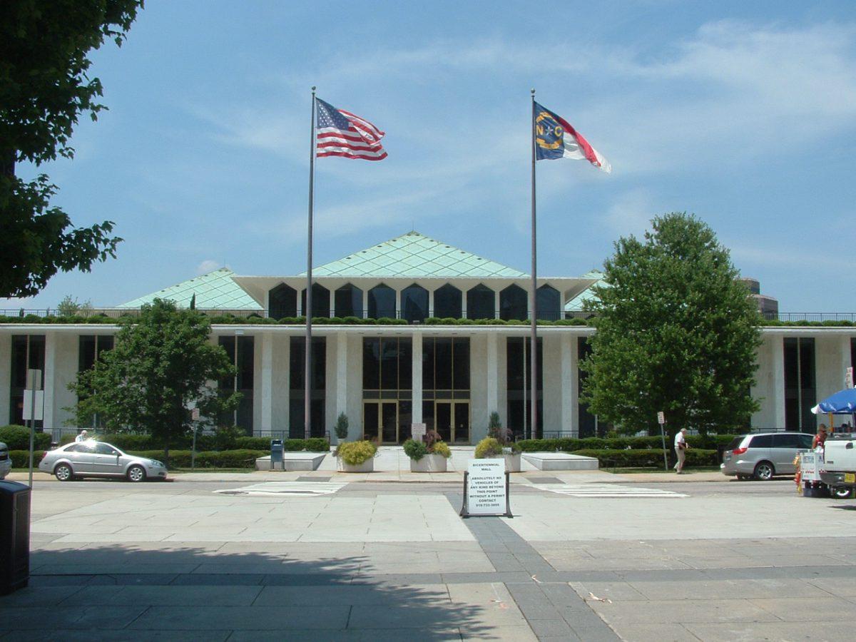 North Carolina Legislative Building, Raleigh.