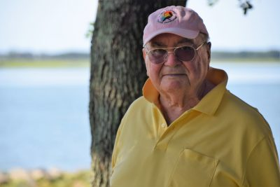 Dick Bierly is longtime president of the North Carolina Coastal Federation. Photo: Mark Hibbs