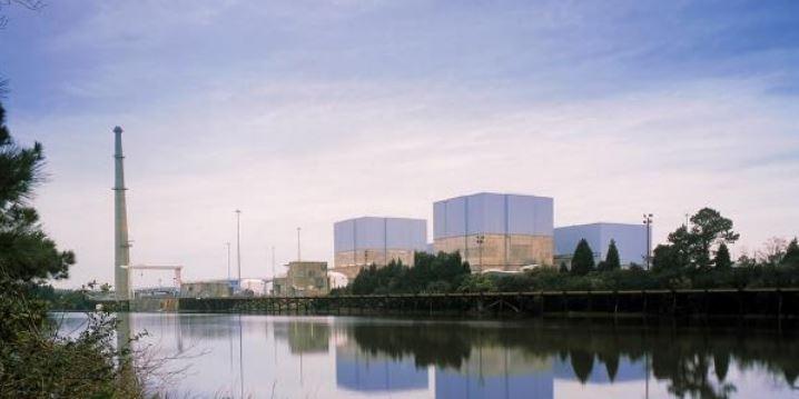 The Brunswick Nuclear Plant near Southport. Photo: Duke Energy