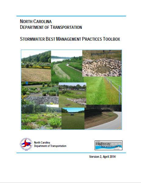 NCDOT stormwater BMP manual