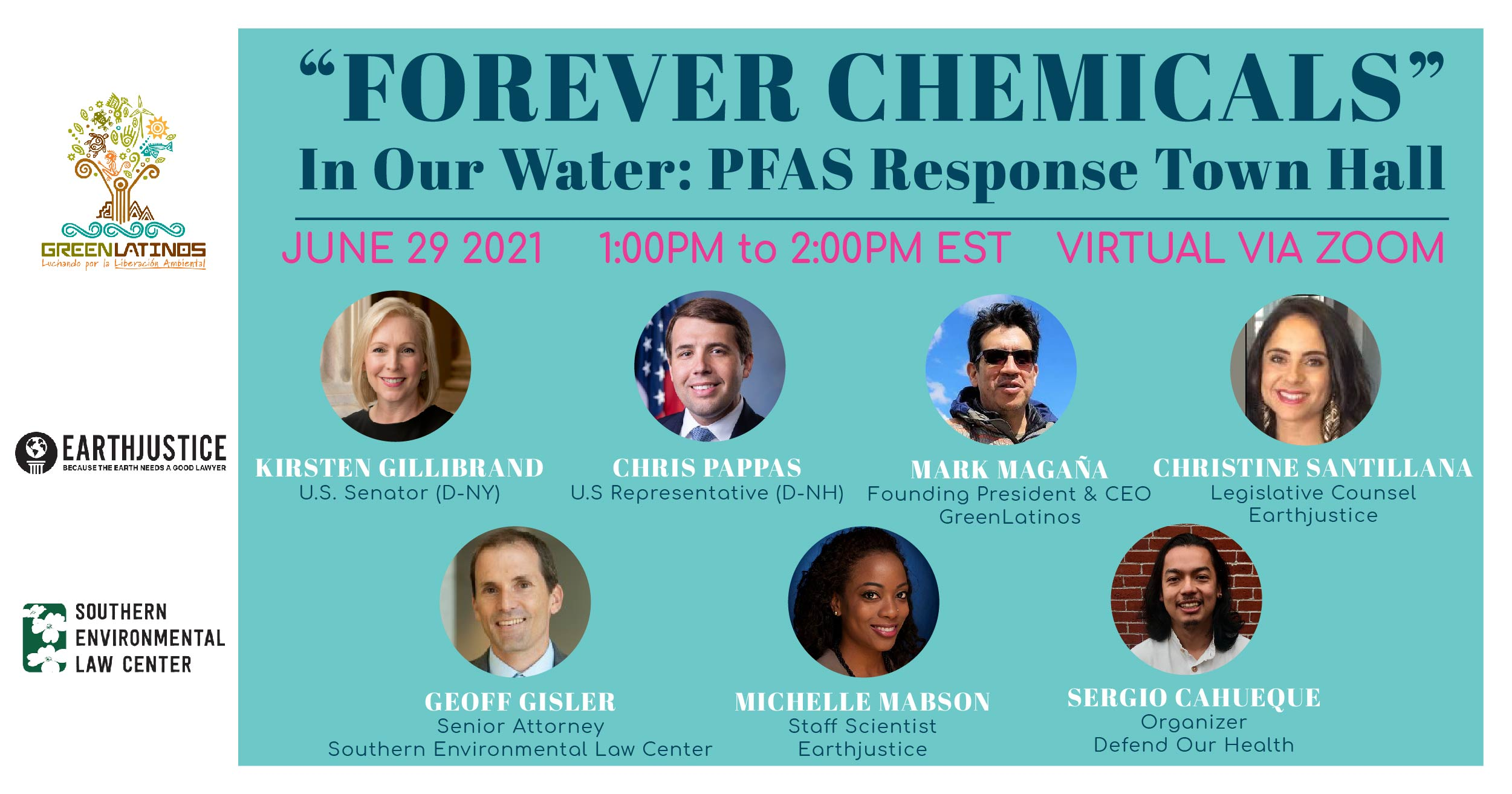 Speakers for the event set for Tuesday include Rep. Chris Pappas, D-N.H., and Sen. Kristen Gillibrand, D-N.Y.