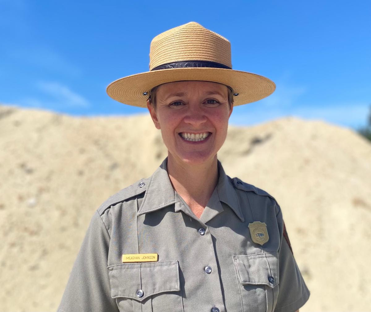 Meaghan Johnson has been selected as chief of Resource Management and Science for National Parks of Eastern North Carolina. Photo: National Park Service