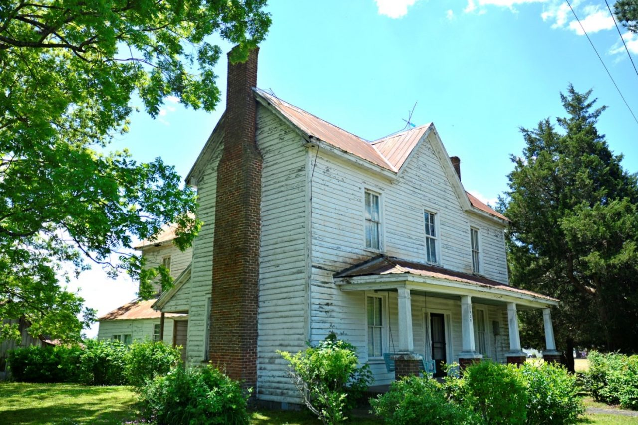The Williams and Reid house, built in 1910 is the largest in the Winton Triangle. Photo: Contributed