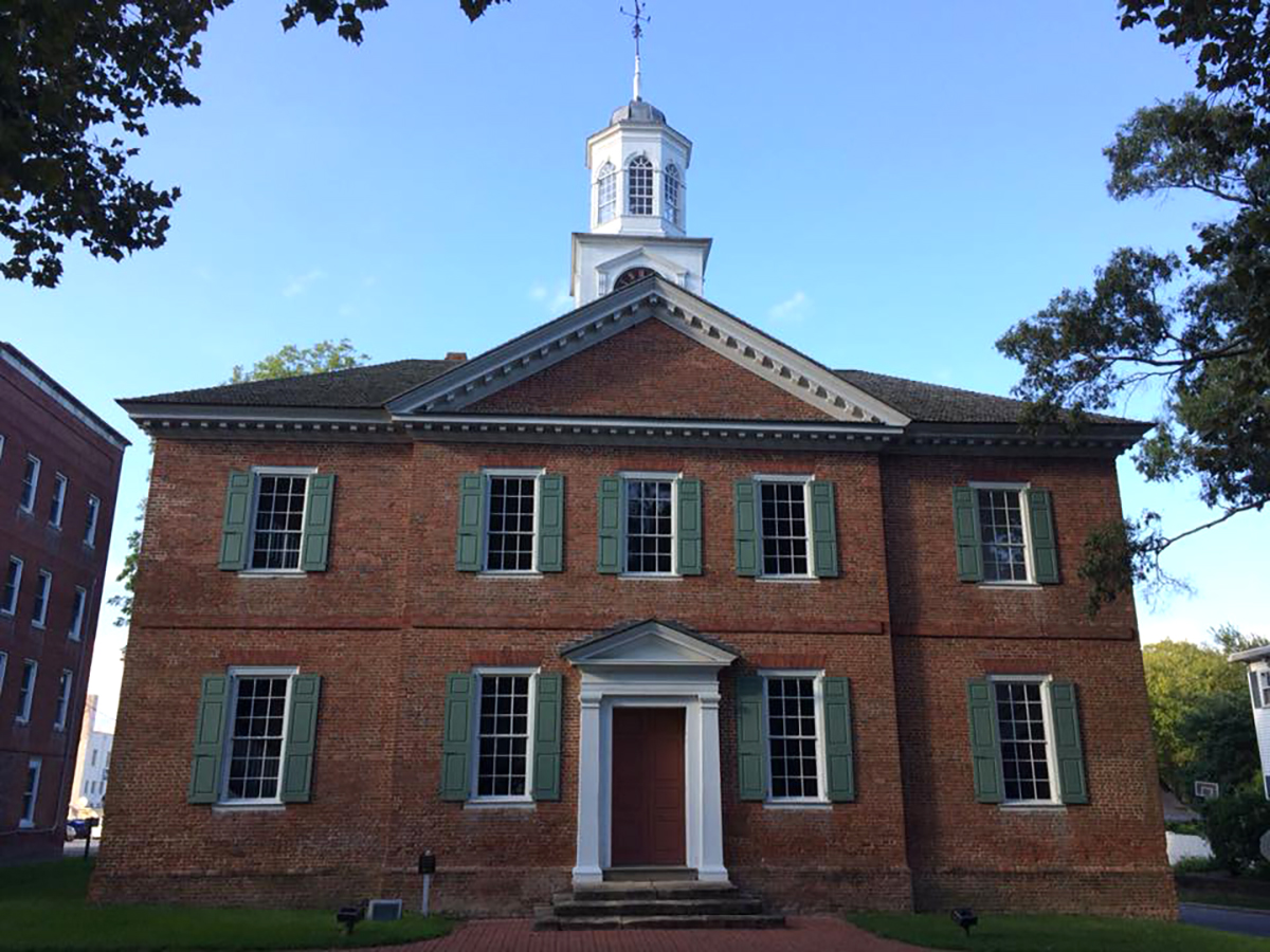 The Chowan County Courthouse, shown here, was built in 1767. Photo: Susan Rodriguez