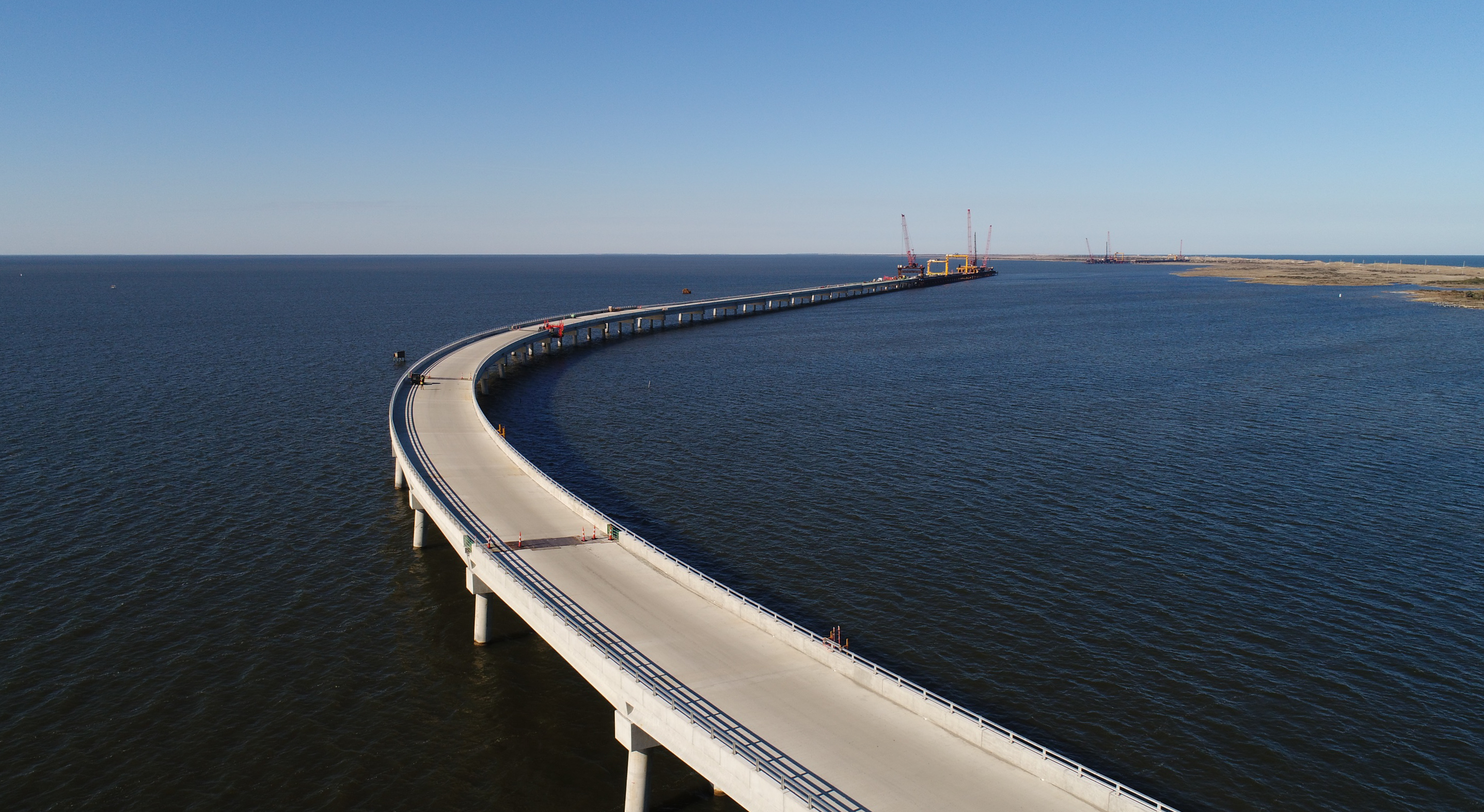 """The Department of Transportation describes the Rodanthe """"jug handle"""" bridge as being built on the backside of the island to provide redundant and accessible travel if N.C. 12 is washed out in a storm. Photo: NCDOT"""
